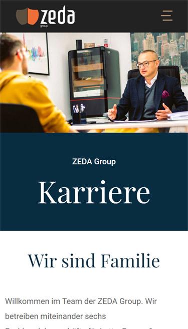 Referenz Zeda Group